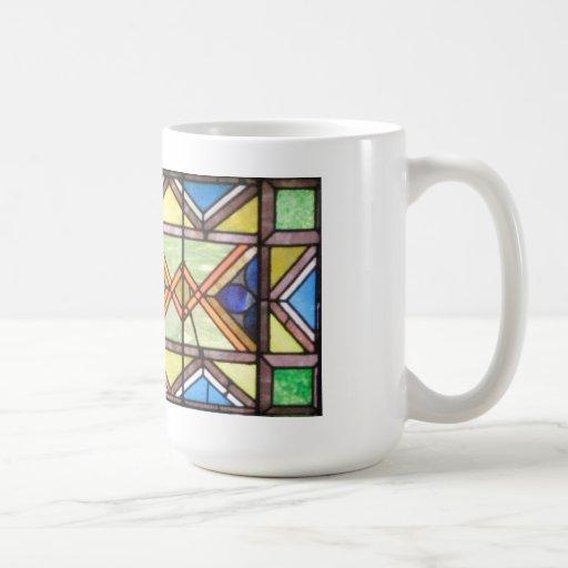 Serie taza del vitral de la taza de mi pastor #1