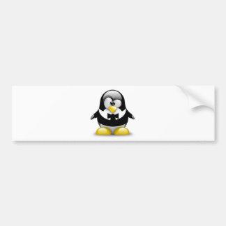Serie Tux Car Bumper Sticker