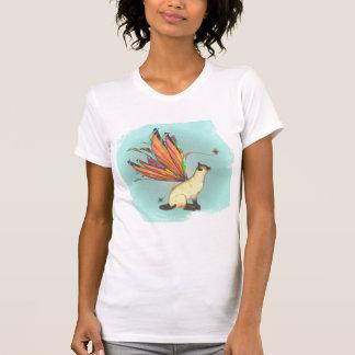 Serie una camiseta 5 del gatito de Fae de 6 Remera