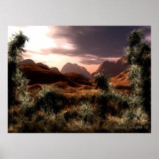Serie V.1 del desierto Impresiones