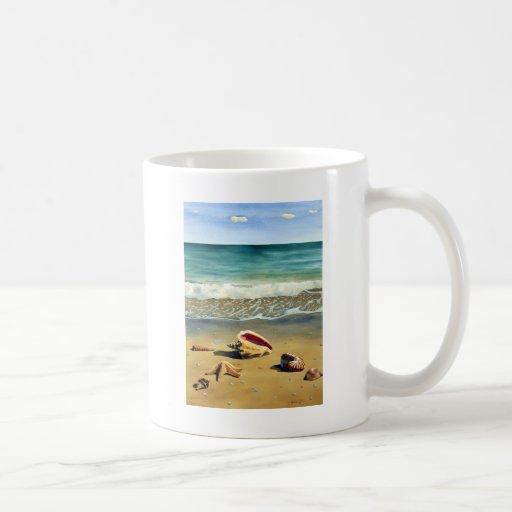 Serie V de Shell del mar Tazas