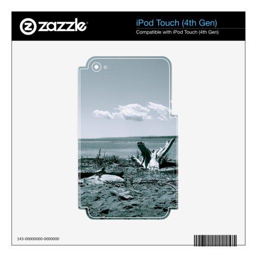 Serie vacío del espacio skins para iPod touch 4G