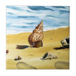 Serie VII de Shell del mar Teja Cerámica