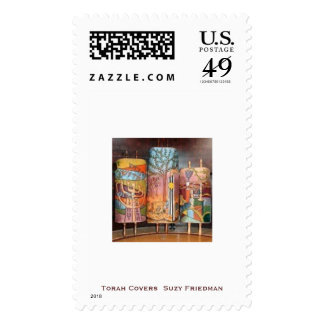 Series 1: Celebrating Artists' Torah Covers Postage Stamp
