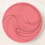 Series-4 diverso--- Práctico de costa rosado 1 de Posavasos Manualidades