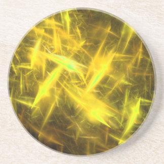 Series-8 estático---Práctico de costa amarillo 1 d Posavasos De Arenisca
