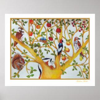 Series del árbol, poster
