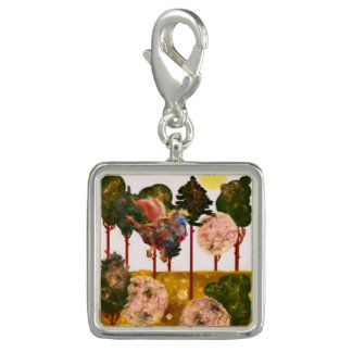 Series Forest. Forest and Forest Dragon Photo Charms