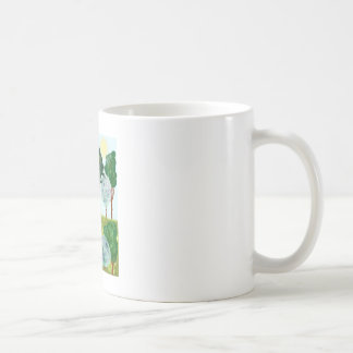 Series Forest. Forest and sunbeams Classic White Coffee Mug