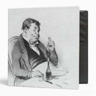 Series 'Galerie physionomique', Bordeaux 3 Ring Binder