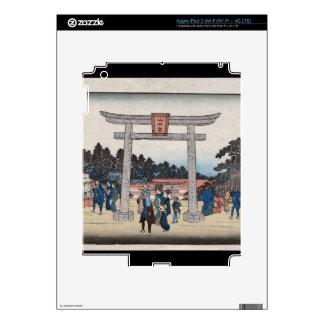Series II Sannō Shrine at Nagatanobaba iPad 3 Decal
