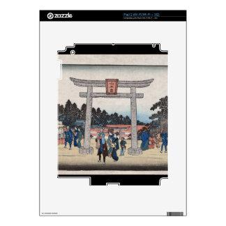 Series II Sannō Shrine at Nagatanobaba Skins For iPad 2