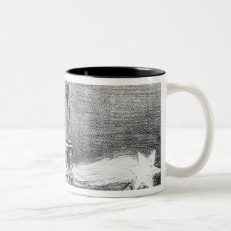 Series 'La Comete de 1857' Two-Tone Coffee Mug