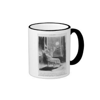 Series 'Les Bas-Bleus', O Moon Ringer Mug