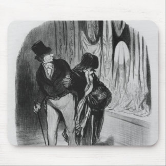 Series 'Les Bons Bourgeois' Mouse Pad