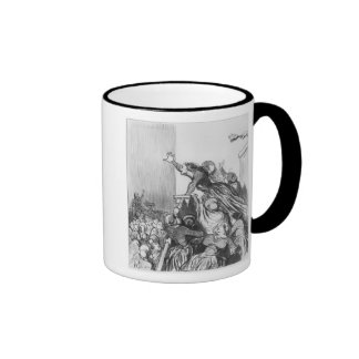 Series 'Les Divorceuses' Ringer Coffee Mug