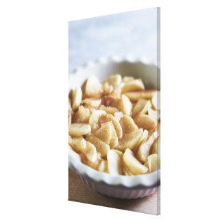 series making apple pie canvas print