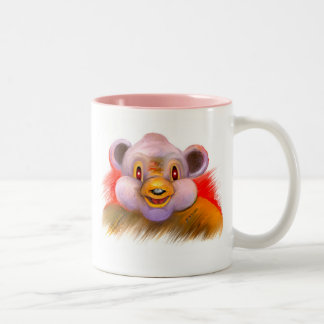 "Series of happy animals ""6"" Two-Tone coffee mug"