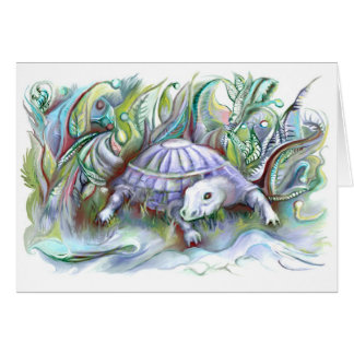 """Series of happy animals """"7"""" card"""