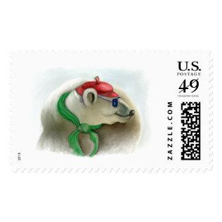 """Series of happy animals """"8"""" postage"""