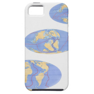 Series of illustrations of Earth 200 million iPhone SE/5/5s Case