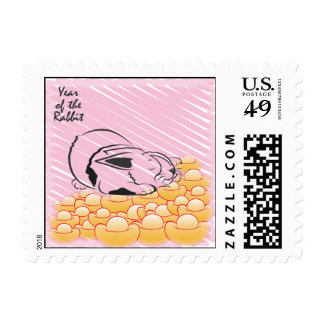 Series Year of the Rabbit stamps
