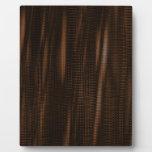 seriewaves del modelo 1 marrón placas de plastico