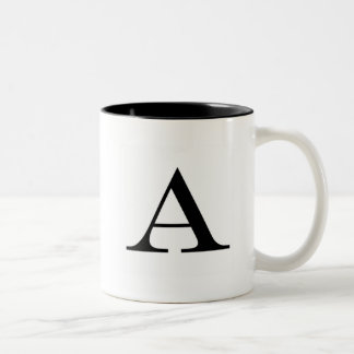Serif A Mug