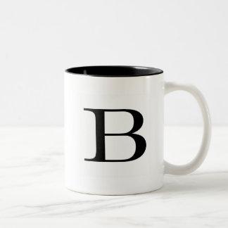 Serif B mug