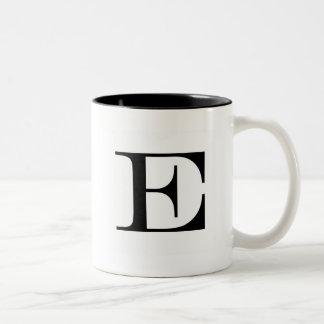 Serif E mug