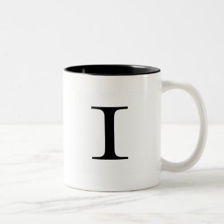 Serif I Mug