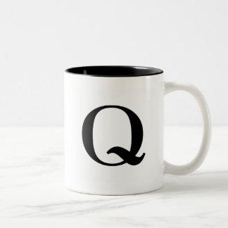 Serif Q Mug