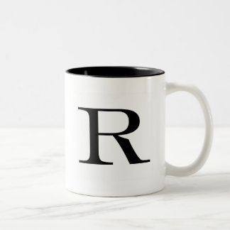 Serif R Mug