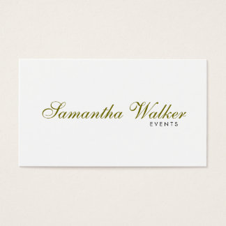 Serif Type 2 Business Card
