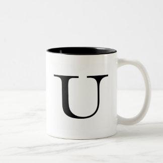Serif U Mug