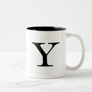 Serif Y Mug
