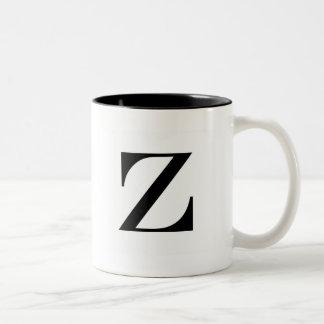 Serif Z Mug