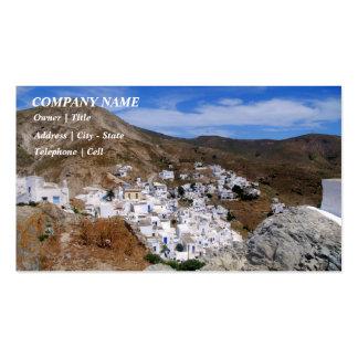 Serifos town – Serifos Business Card Templates