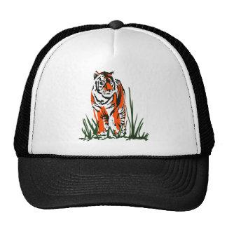 Serigrafía del tigre gorras de camionero