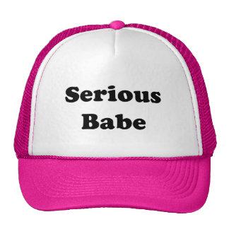 Serious Babe Trucker Hat