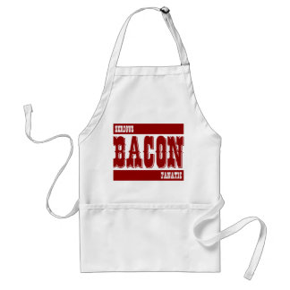 Serious Bacon Fanatic Adult Apron