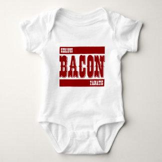Serious Bacon Fanatic Baby Bodysuit