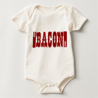 Serious Bacon Fanatic Baby Bodysuit