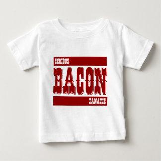 Serious Bacon Fanatic Baby T-Shirt