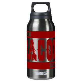 Serious Bacon Fanatic Insulated Water Bottle