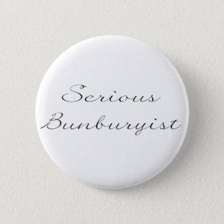 'Serious Bunburyist' Badge Button