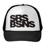 Serious Business - Black Trucker Hat