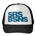 Serious Business - Blue Hat