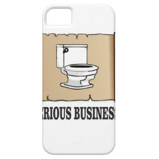 serious business fun iPhone SE/5/5s case