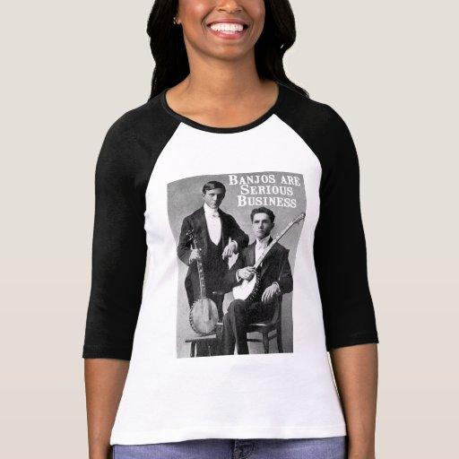 Serious Business Ladies 3/4 Sleeve Raglan T-Shirt